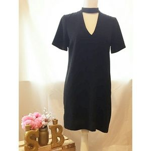 Zara woman black dress